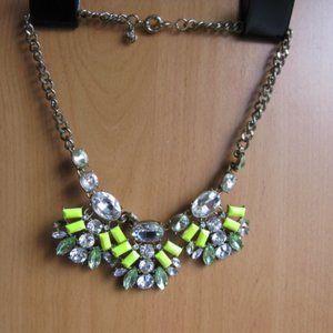 J Crew Vintage inspired statement necklace